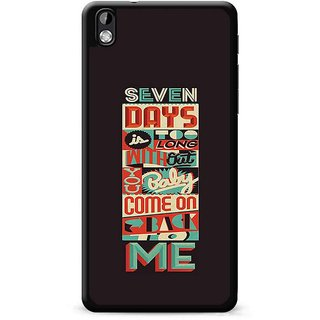 FRENEMY Back Cover for HTC Desire 816