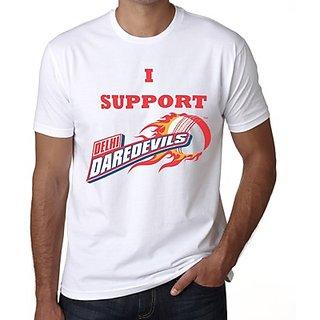 Demokrazy Support Dd Men's IPL Fan T Shirt