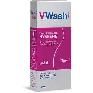 VWash Expert Intimate Hygiene Wash 100 ml Pack of 3