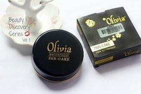 Olivia Pan Cake Face Powder(set of 3 pcs.)