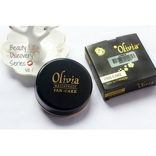 Olivia Pan Cake Face Powder(set of 3 pcs.)