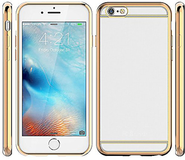 cheap for discount 69597 9364b Soft Gold Plated Back Cover for Coolpad Note 3 Lite