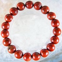 Red Jasper Bracelet 8MM - Healing Stone, Reiki, Crystal Therapy