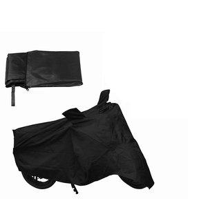 Autoplus Two Wheeler Cover For Honda CB Shine Black