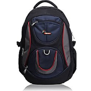 Black Blue School Bag
