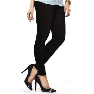 Black Womens Cotton Leggings