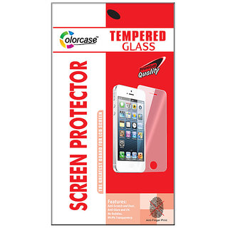Colorcase Tempered Glass Screenguard for InFocus S1
