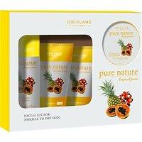 Sweden Pure Nature Tropical Fruits Facial Kit 150 Ml(Set Of 4)