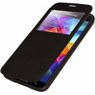ClickAway S5 Flip Cover for Samsung Galaxy S5 Black