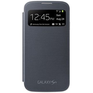 Click Away  Samsung Galaxy S4 - Flip Cover (Black)