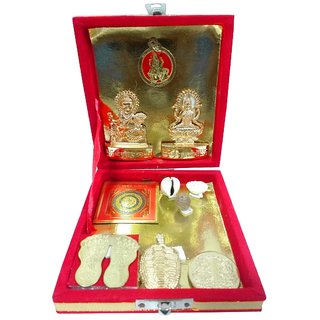only4you Shri Dhan Lakshmi Kuber Dhan Varsha Yantra Pooja Kit