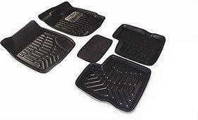 ROYAL Assorted Floor Mat 3D Type For Maruti Suzuki Swift (Black)