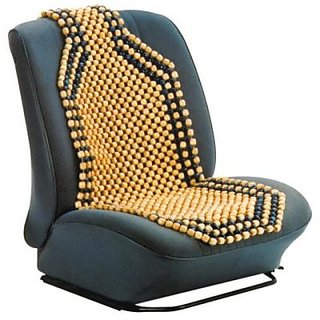 Car Seat Wooden Beads Acupressure Washable Warranty Lowest Price By Decorator