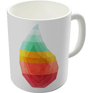 Dreambolic Geo Drop Printed Ceramic Coffee Mug