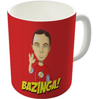 Dreambolic  Bazinga Printed Ceramic Coffee Mug