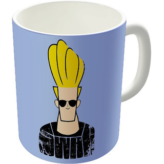 Dreambolic  Jhonny Bravo Swag Printed Ceramic Coffee Mug