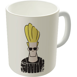 Dreambolic  Jonny Bravo Swag Printed Ceramic Coffee Mug