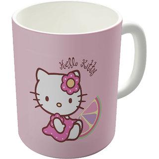 Dreambolic  Hello Kitty Printed Ceramic Coffee Mug