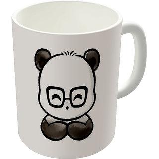 Dreambolic  Geek Chick Printed Ceramic Coffee Mug