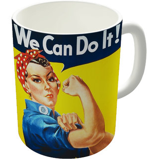 Dreambolic  Feminisim Printed Ceramic Coffee Mug