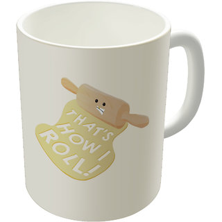 Dreambolic  Dough Style Printed Ceramic Coffee Mug