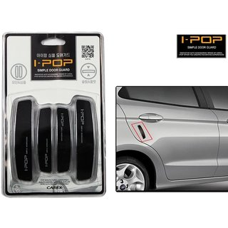 i-pop Simple Black Car Door Scratch Guard Protector ipop - For Chevrolet Optra