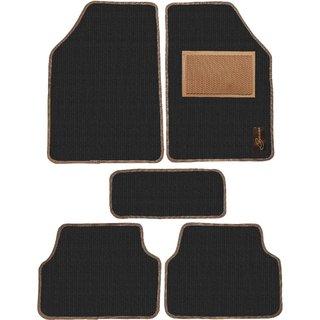 Leganza Black Custom-made Z Shaped Car Foot Mats for NEXA Baleno
