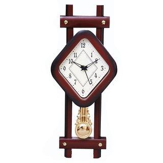 Ravishing Plaza Kite Design Pendulum Wall Clock