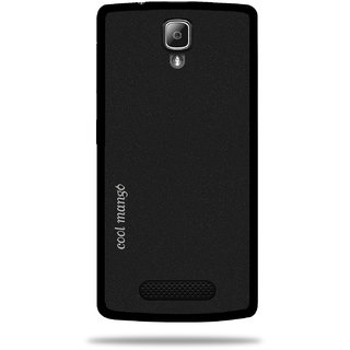 Cool Mango Back Cover for Lenovo A1000(Sparkling Black)