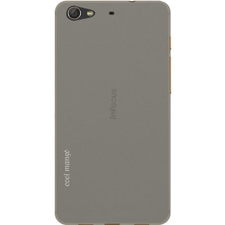 Cool Mango Back Cover for Infocus M808 (Smokey Grey)