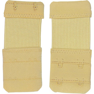 Fiha Beige 2 Hook Bra Strap Extender (Pack Of 1)