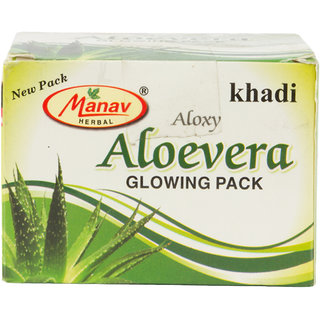 Khadi Aloxy Aloevera Glowing pack 90 gms