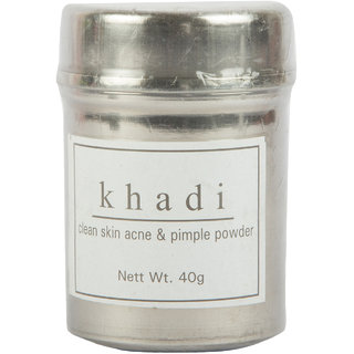 Khadi Clean Skin Acne  Pimple Powder 40 gms