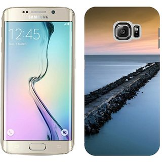 Samsung Galaxy S6 Edge Design Back Cover Case