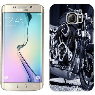 Samsung Galaxy S6 Edge Design Back Cover Case