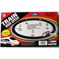 Super High Speed Bullet Metro Train Express Train Track Toy Gift Kid