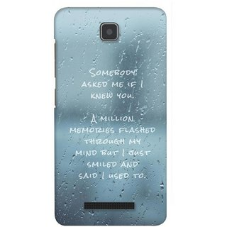 G.store Printed Back Covers for Lenovo A1900 Blue