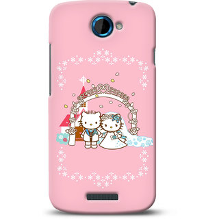 G.store Printed Back Covers for HTC One S Pink