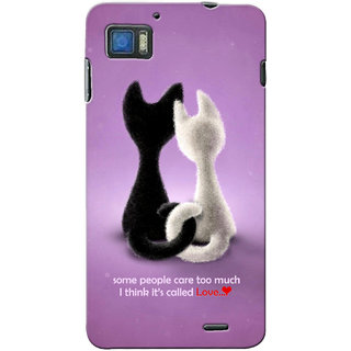 G.store Printed Back Covers for Lenovo K860 Purple