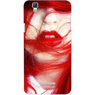 G.store Printed Back Covers for Coolpad Dazen F2 Red