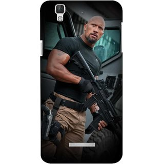 G.store Printed Back Covers for Coolpad Dazen F2 Multi