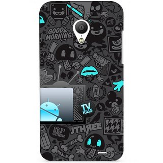 G.store Printed Back Covers for Meizu MX3 Black