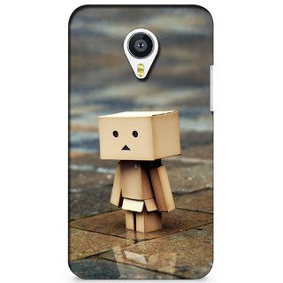 G.store Printed Back Covers for Meizu MX4 Brown