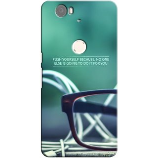 G.store Printed Back Covers for Huawei Nexus 6P Green