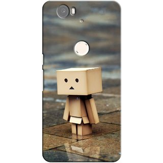 G.store Printed Back Covers for Huawei Nexus 6P Brown