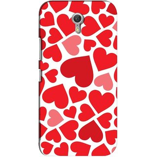 G.store Printed Back Covers for Lenovo ZUK Z1 Red