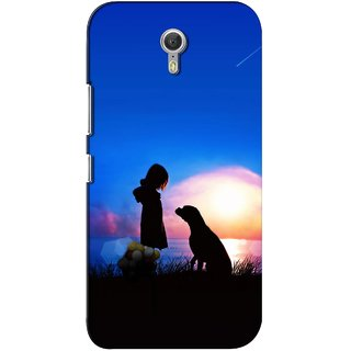 G.store Printed Back Covers for Lenovo ZUK Z1 Blue