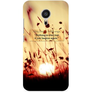 G.store Printed Back Covers for Meizu MX5 Brown