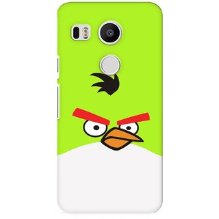 G.store Printed Back Covers for LG Google Nexus 5X Green