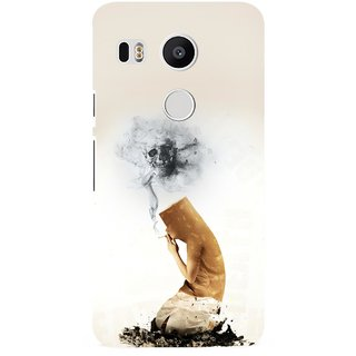 G.store Printed Back Covers for LG Google Nexus 5X White